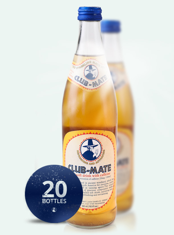 Club Mate Bottle 0,5l - Club Mate Bottle 05