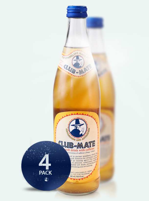 Club Mate 4 Pack