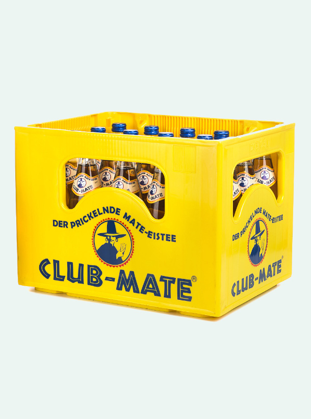 Club Mate original Crate 500ml
