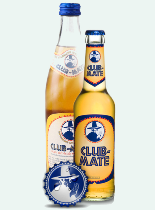 club mate bottle 500ml and 330ml